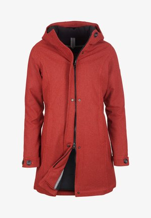 SCHNIEKE - Winter coat - redmelange