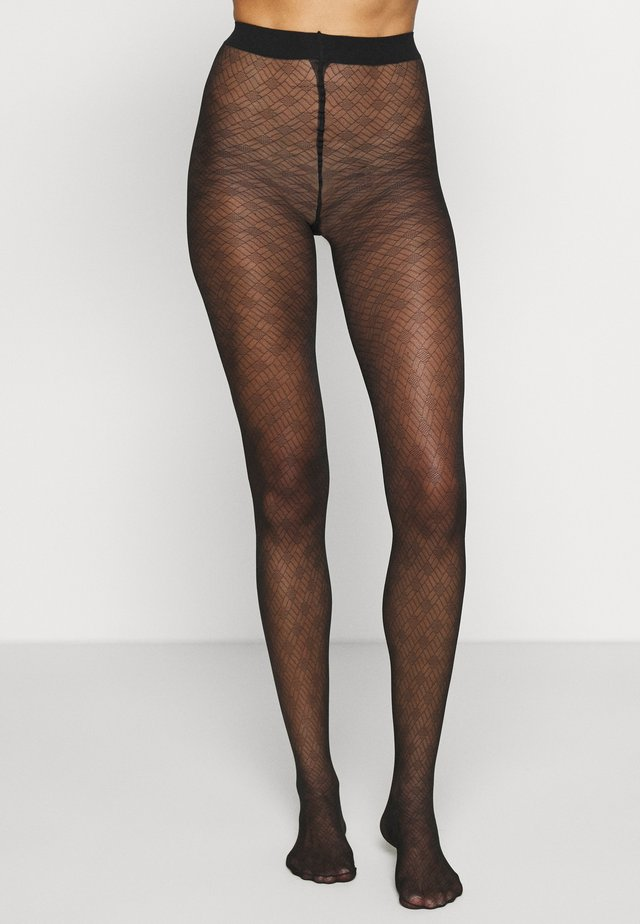 JEWEL - Tights - black