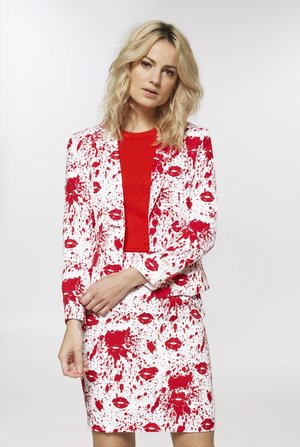 BLOODY MARY SET - Pencil skirt - white
