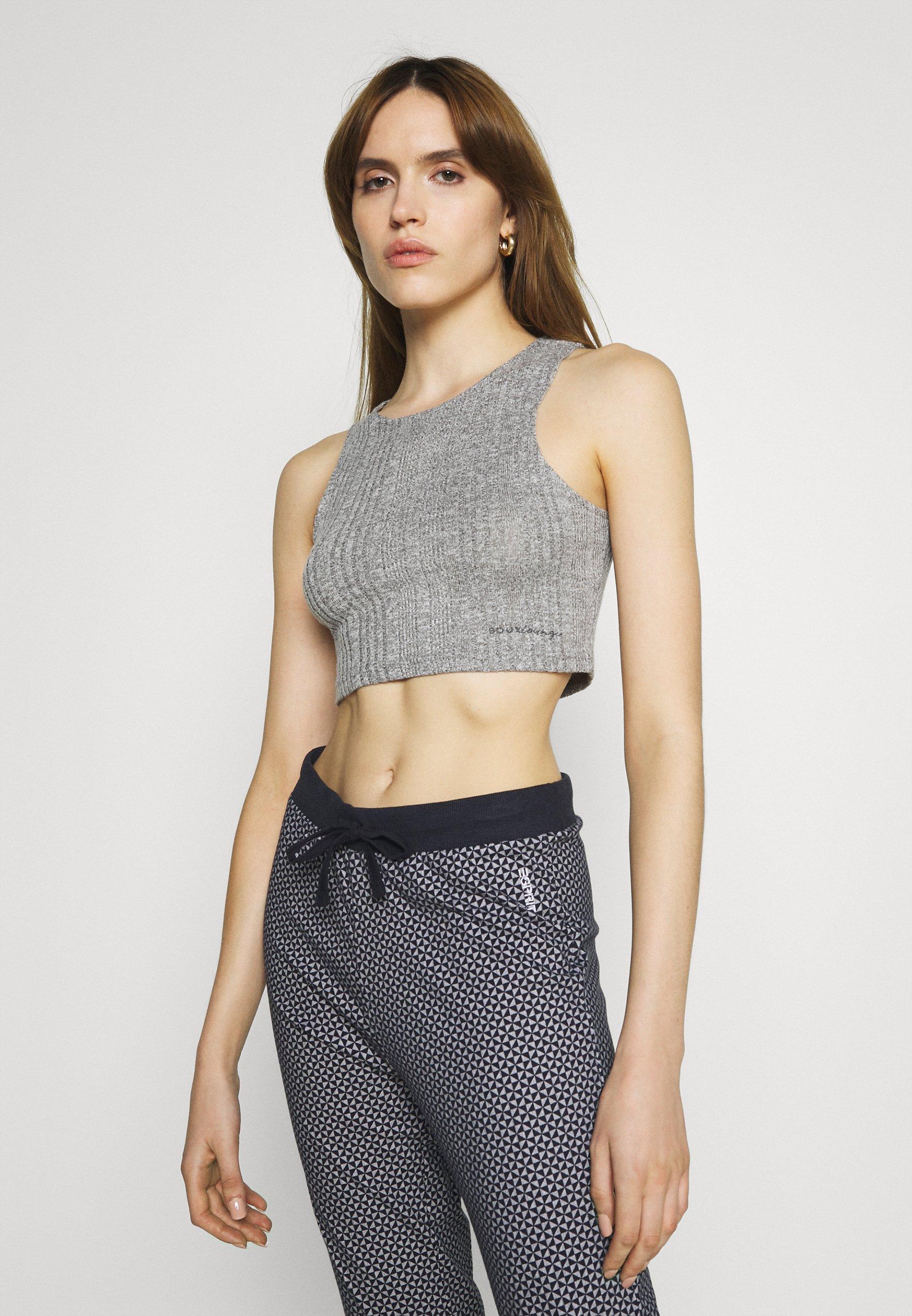 Damen LYLA VARIEGATED CROP - Nachtwäsche Shirt