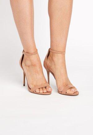 BLACK EMMA WILLIS BARELY THERE SANDALS - High heeled sandals - beige
