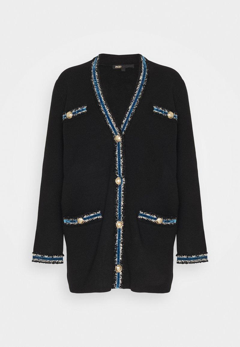 maje - MYSTER - Cardigan - noir