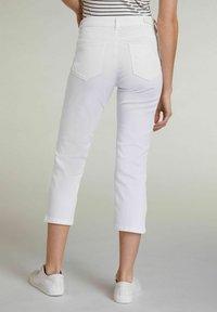 Oui - Trousers - optic white - 2