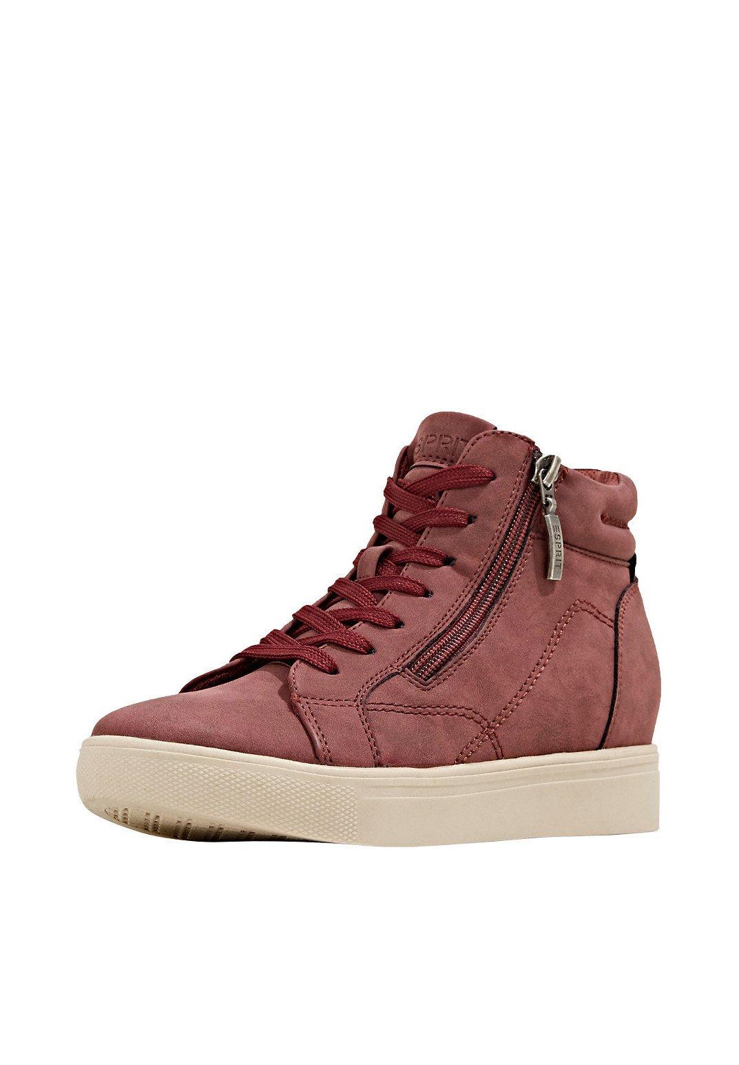 Esprit Sneaker high bordeaux red/bordeaux