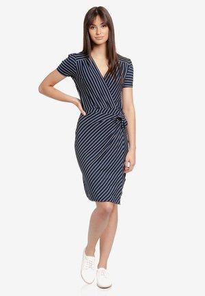Shift dress - blau allover
