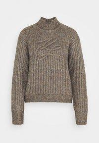 KARL LAGERFELD - SIGNATURE SOUTACHE SWEATER - Pullover - multi - 0