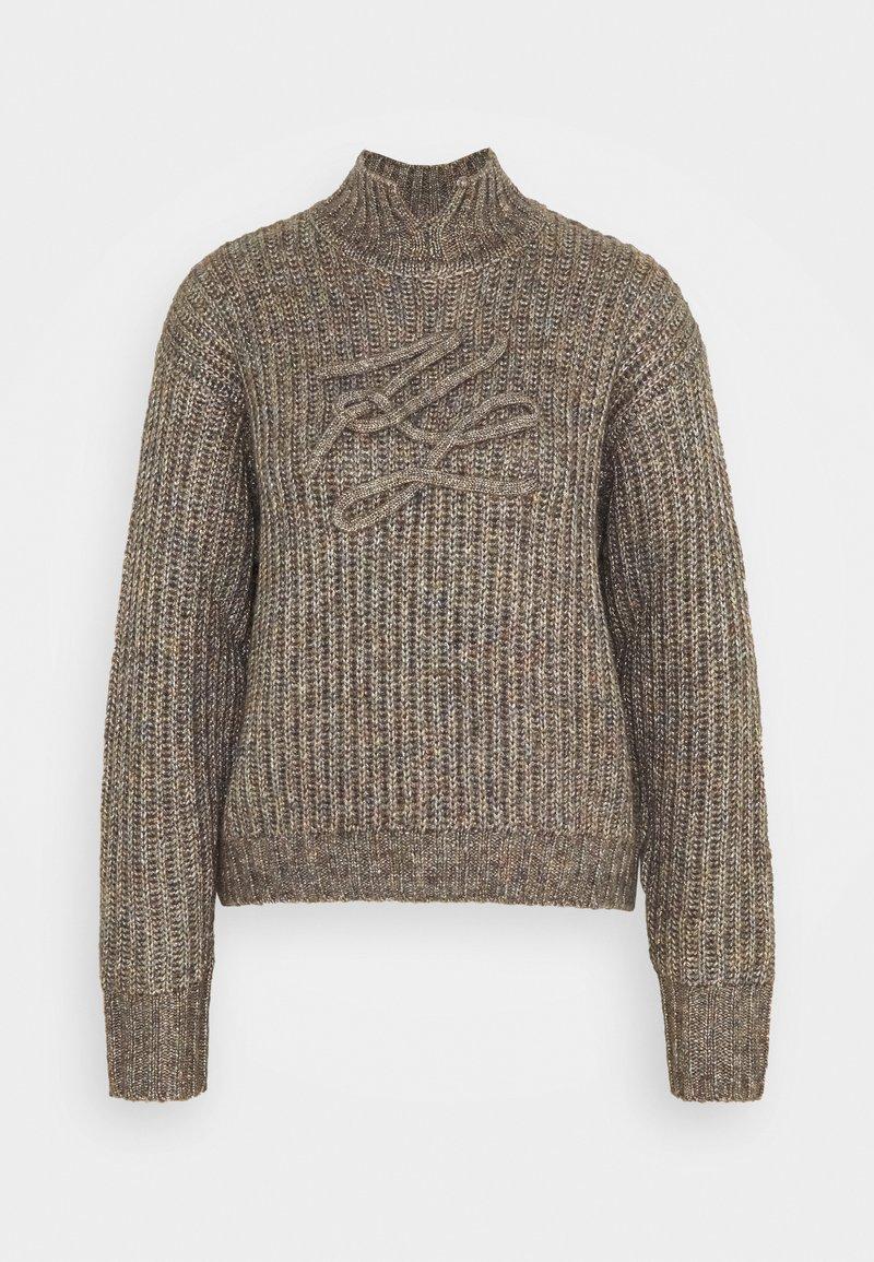 KARL LAGERFELD - SIGNATURE SOUTACHE SWEATER - Pullover - multi