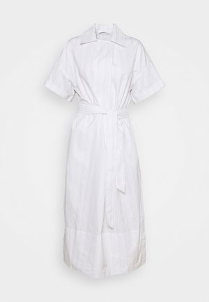 TOVA DRESS - Shirt dress - silver cloud