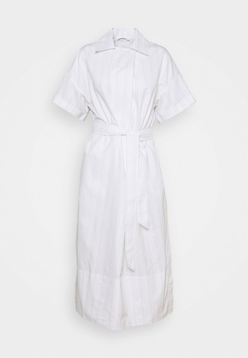 Lovechild - TOVA DRESS - Shirt dress - silver cloud