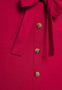 Even&Odd - A-line skirt - brick red - 4