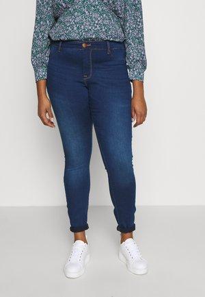 JANNA - Trousers - blue denim