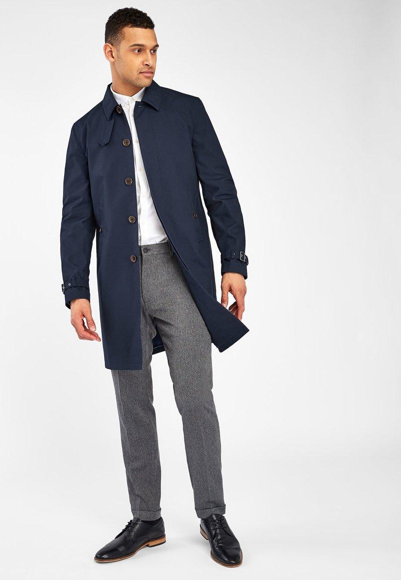 Next - BRITISH MILLERAIN SIGNATURE - Short coat - blue