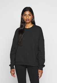 Even&Odd Petite - Sweatshirts - black - 0