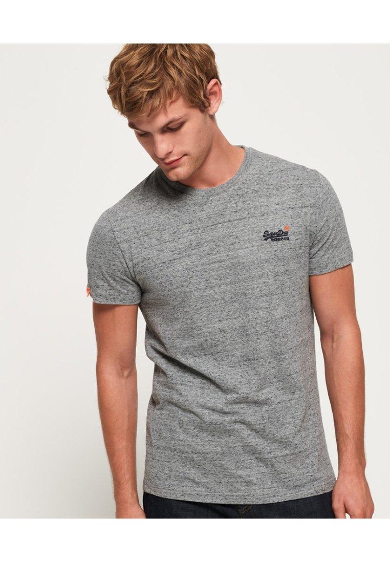 Superdry - ORANGE LABEL VINTAGE - T-shirt basic - grey
