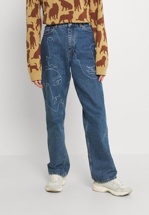 TAIKI FACES - Jeans relaxed fit - faces