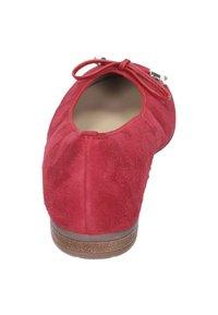 ara - Ballerinaskor - red - 3
