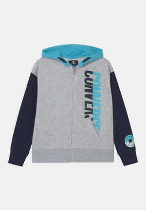 LOGO FULL ZIP HOODIE - Mikina na zip - lunar rock heather