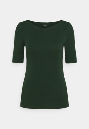 Basic T-shirt - deep pine