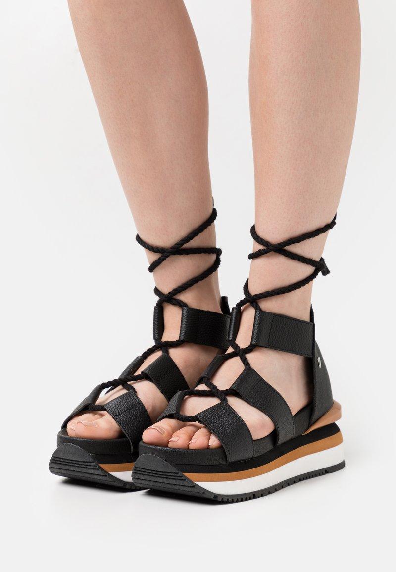 Gioseppo - Platform sandals - black