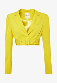 UNIQUE 21 - CHARTREUSE BELTED CROP - Blazer - charreuse - 4