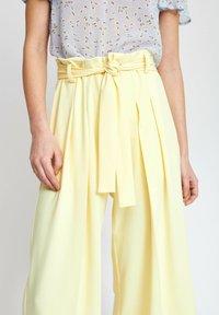 InWear - Trousers - lemon light - 3