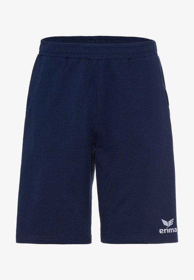 Essential  - Sports shorts - navy / weiß