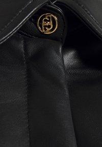 LIU JO - GIACCA CAMICIA - Leather jacket - nero - 9