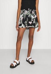 Vero Moda - VMSIMPLY EASY SHORT SKATER SKIRT - Mini skirt - black - 0