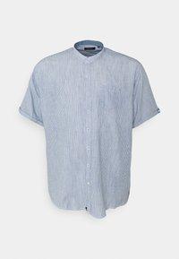Shine Original - MANDARIN STRIPED SHIRT - Shirt - blue - 0
