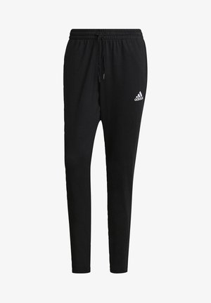 ESSENTIALS TAPERED JOGGERS - Pantalon de survêtement - black
