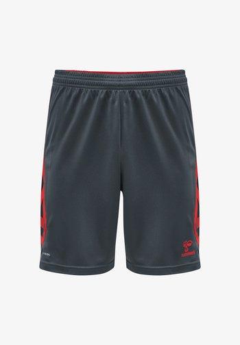ACTION POLY  - Sports shorts - ebony/flame scarlet