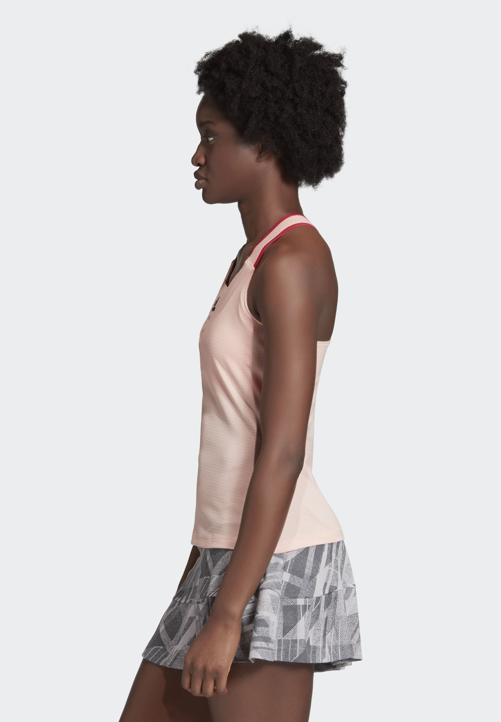 adidas Performance TENNIS Y-TANK TOP HEAT.RDY - Toppi - pink Lvm2f