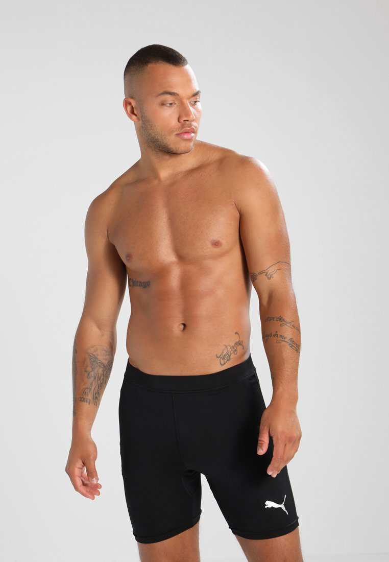 Puma - LIGA BASELAYER SHORT  - Pants - black