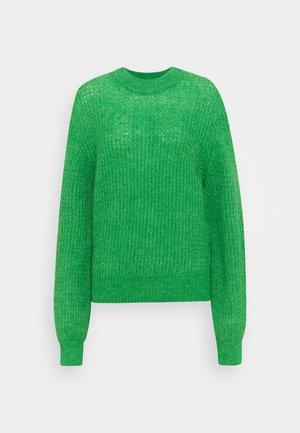 THELMA CREW NECK - Jumper - fern green melange