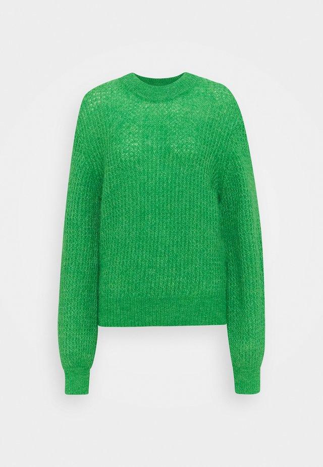 THELMA CREW NECK - Trui - fern green melange