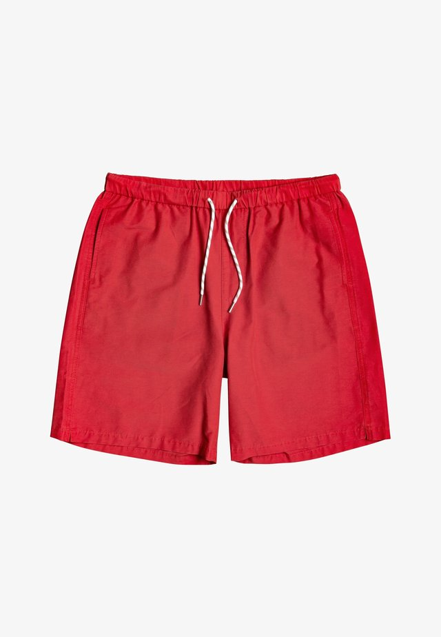 Swimming shorts - quik red