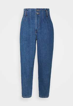 ONLPLEAT CARROW - Jeans relaxed fit - medium blue denim