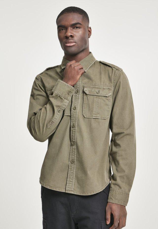 VINTAGE  - Overhemd - olive