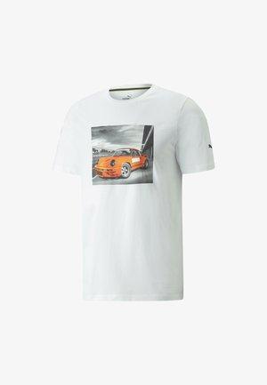 PORSCHE LEGACY FTL GRAPHIC TEE MAND - T-shirt imprimé - white