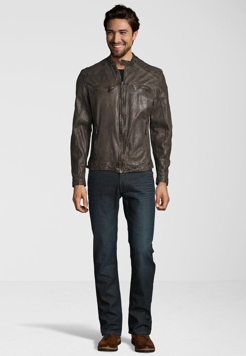 Capitano - Leather jacket - grey