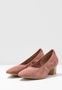 PERLATO - Classic heels - blush - 4