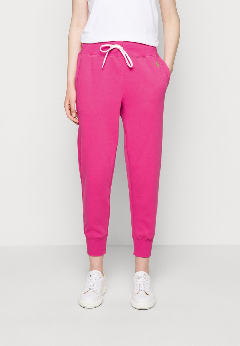 Polo Ralph Lauren - FEATHERWEIGHT - Pantaloni sportivi - peony