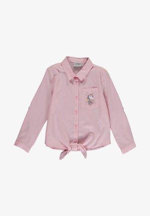 Button-down blouse - pembe