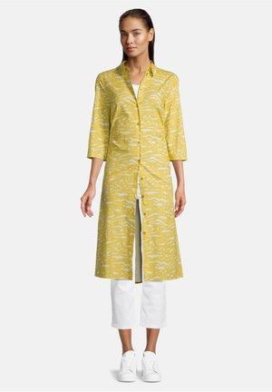 Robe chemise - yellow/white