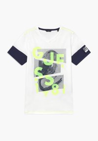 Guess - JUNIOR - Print T-shirt - blanc pur - 0