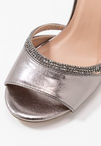 Anna Field - Sandaler med høye hæler - gunmetal - 2