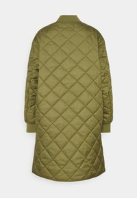 Marc O'Polo DENIM - QUILTED COAT - Cappotto corto - fresh herbs - 1