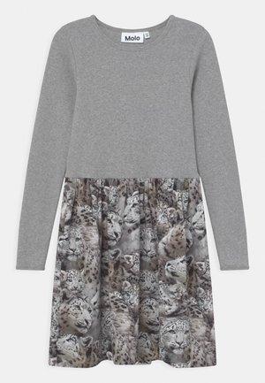 CREDENCE - Jersey dress - grey