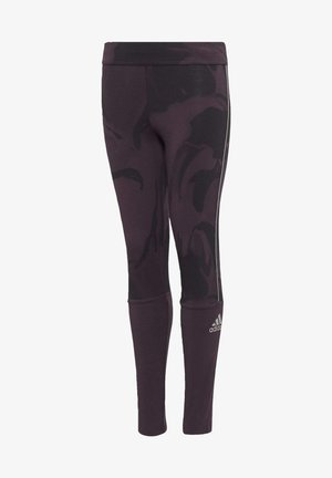 GLAM ON LEGGINGS - Leggings - purple