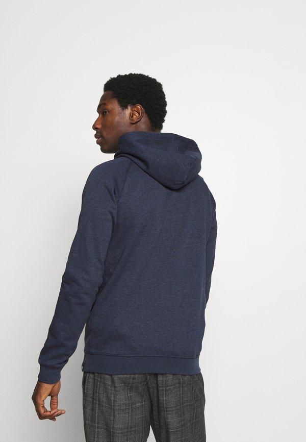 Pier One Bluza z kapturem - dark blue/granatowy Odzież Męska IFRY